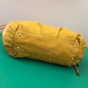 Michael Kors Bags - Michael Kors Tellow Leather Large Shoulder Handbag